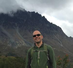 Leon Jaimes at Eska Falls